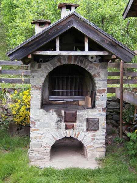 Gartengrill - Gartengrill stein ...